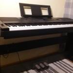 Piano elektroniczne YAMAHA DGX660B z listwą pedałową_LP7A
